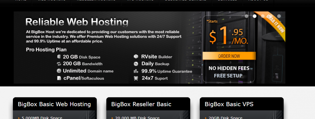 US OpenVZ VPS from just $1.3/m  4GB RAM VPS @ $12.95   KVM – 1GB RAM @ $3.5/m – Addon IP Available