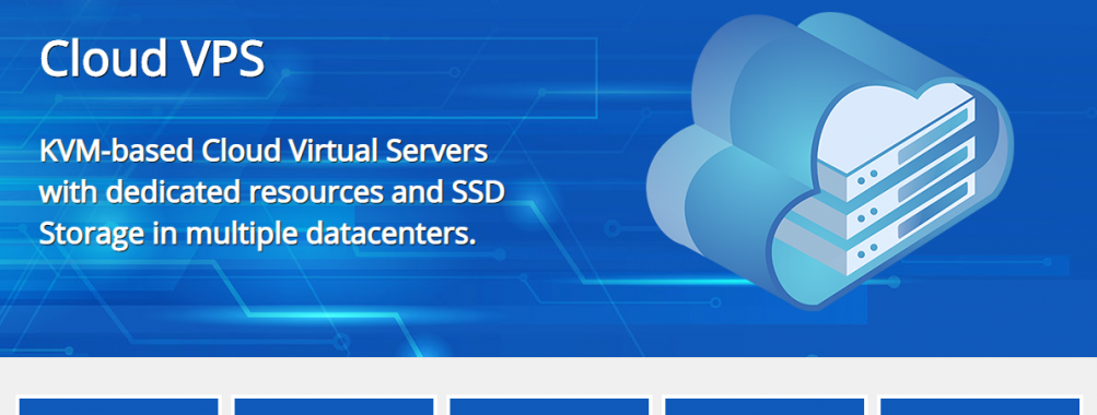 Best Cloud VPS Offer | 60% Discount | KVM Virtualization | Promo starting from €1.24/month