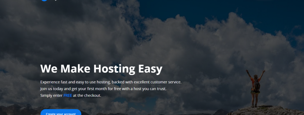 FIRST MONTH FREE! – Starting from 1GB RAM, 40GB Storage, IPv4 and IPv6 included