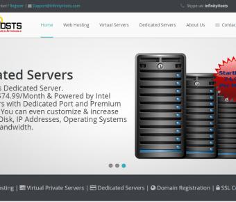 InfinityHosts.com – 1 Gbit Linux/SolusVM OpenVZ, 1GB RAM, 3TB BW, 1 IP – $6/Mo [NL]