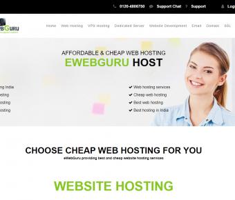 eWebGuru | Fully Managed Linux & Windows VPS | India Location