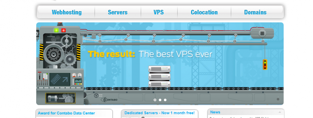 NEW entry-level VPS from Contabo: VPS S SSD with 4 cores, 8 GB RAM & 200 GB SSD for 4.99 EUR/month!