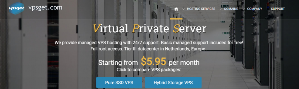 VPS in Europe [NL] from only $5.35 | full root access , managed support included |10% LIFETIME OFF