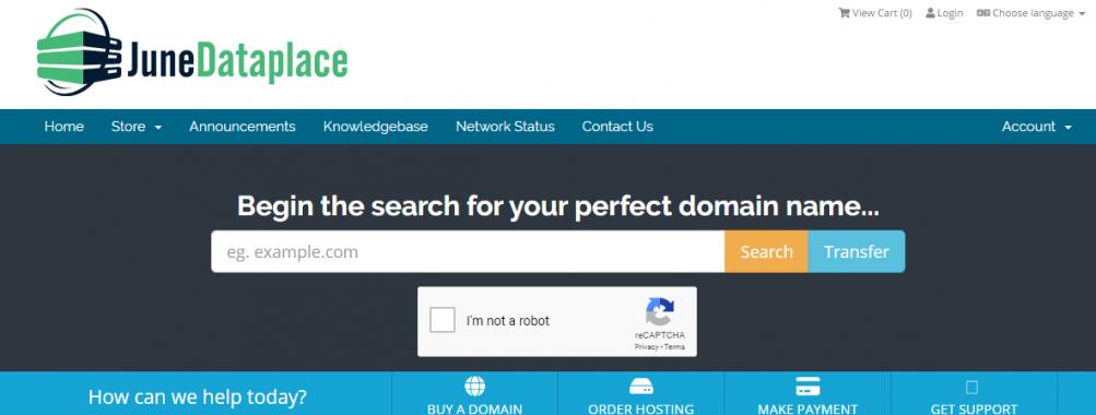 JuneDataplace.Com – RECURRING 15% Off Lifetime – Fully Managed KVM Virtual Private Servers
