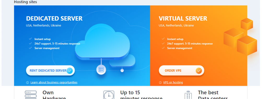 VPS HOSTING. USA/Netherlands/Ukraine. SSD VPS. WINDOWS VPS. [Extra IPv4, rent IP]