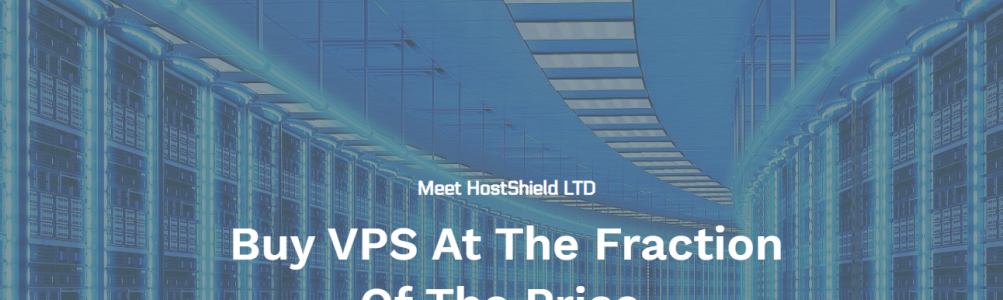Hostshield.net | KVM VPS $19.99/YEAR | Christmas Deals | Instant Setup | UK\USA\NL