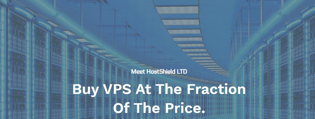 Hostshield.net | KVM VPS $19.99/YEAR | Christmas Deals | Instant Setup | UK\USA\NL